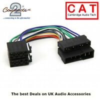 CT20UV06 Female ISO to Male DIN old Car Stereo Wiring Harness adaptor