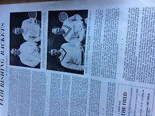 T1-2 ephemera 1964 article badminton gracey smith swallow leonard