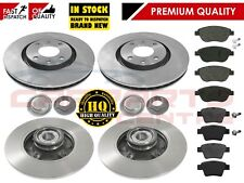 PEUGEOT 207 2006-2012 FRONT REAR BRAKE DISCS PADS WHEEL BEARINGS ABS RINGS