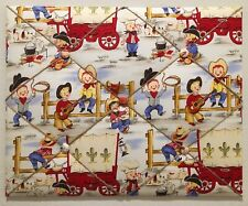 Michael Miller Lil' Cowpokes Fabric French Memo Boards Cowboy Memory Board Hat