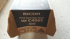 Genuine Ricoh (Also Lanier) 842099 Black Toner for MP-C306 C307 C406 Brand New