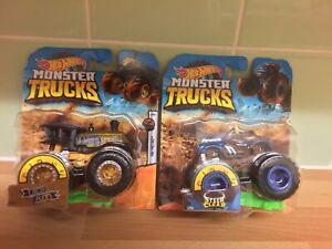 Hot Wheels 1:64 Monster Trucks Loco Punk RARE AND Monster Trucks Steer Clear MOC