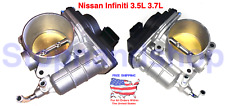 New Fuel Injection Throttle Body CHAMBER ASSY for Nissan Infinity 3.5L 3.7L Set