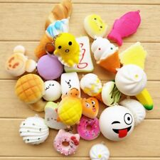 30pcs Jumbo Slow Rising Squishies Scented Squishy Squeeze Reliever Stress Toys