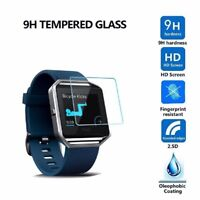 2X Premium Tempered Glass Screen Protector Film for Fitbit Blaze Smart Watch