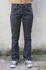 Levis 525 Stretch Vintage 80s dark grey Denim Jeans W28 L27 Uk10 Faded Bootcut