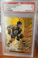 🛑1999-00 Upper Deck Ray Bourque HoloGrFx Ausome #5  BOSTON BRUINS AVALANCHE PSA