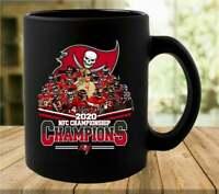 TB Buccaneers NFC Championship 2020 Coffee Mug, Funny Cup, Black Ceramic Mug