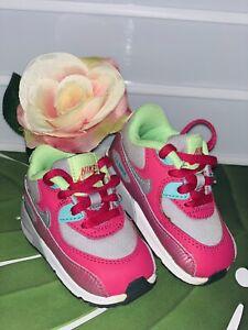 Schuhe Nike Air Max Gr.19,5 20 19 Lauflernschuhe Top Sportschuhe Airmax Pink