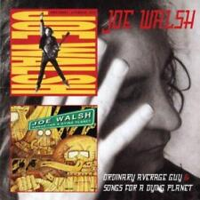 JOE WALSH - ORDINARY AVERAGE GUY & SONGS FOR ADYING PLANET 2CDs (NEW & SEALED)