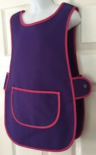 Wholesale Job Lot 10 Brand New Kids Childrens Tabard Aprons Purple Clothes Craft