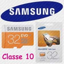Samsung 32go Evo 95mo/s MicroSD SDHC Uhs-i Class 10 Memory Card