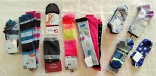 Wholesale Lot of 51 Womens Socks Single and Packaged Mixed Styles Brand New