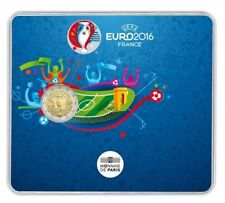 2€ BU 2016 - FOOTBALL UEFA EURO 2016 - (10.000 ex) sous blister !