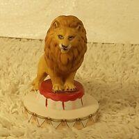 Vintage 1983 Circus Royale Applause Lion Ceramic Figurine #9608