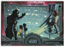 2016 Star Wars Masterwork Great Rivalries Foil GR-2 Luke Darth Vader 252/299