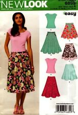 New Look Sewing Pattern 6899 Misses Skirts Tee Shirt Tops Skirt Sizes 10-22