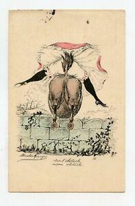 Georges Sheep. La Pig, Saut D'Obstacle. Erotic, Grivoiserie