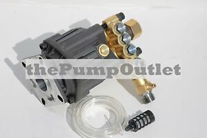 """3000 PSI Axial Pressure Washer Replacement Pump 3/4"""" Horizontal Shaft Mi-T-M"""