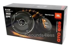 "NEW JBL GTO629 180 Watts GTO Series 6.5"" 2-Way Coaxial Car Audio Speakers 6-1/2"""