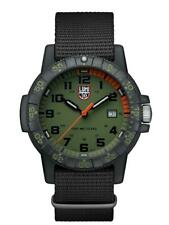 Luminox LEATHERBACK SEA TURTLE GAINT Green Dial NATO Band Men's Watch XS.0337