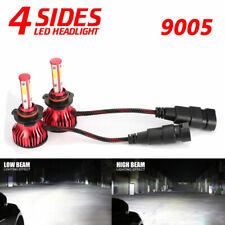 4-sides 9005 HB3 H10 9145 LED Headlight Conversion Kit 2000W 6000K 300000LM Bulb