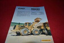Caterpillar 980C Wheel Loader Dealer's Brochure DCPA4 ver2