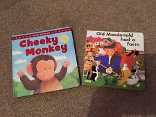 Childrens Books X2 Cheeky Singe & Old MacDonald BRAND NEW