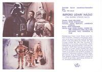 STAR WARS - THE EMPIRE STRIKES BACK Original RARE MINT exYU Movie Program 1980