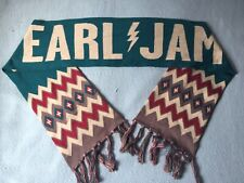 Pearl Jam Lightening Bolt Tour Scarf