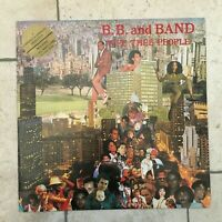 "B.B. and Band ‎_ Wee Thee People_LP Vinile 33giri 12"" RED_1982 Zanza Italy RARE"