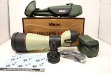 【Top Mint】 Nikon Field scope ED 82 w/Eyepiece Case Box Manual from Japan #680385