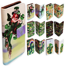 For Sony Xperia Series - St. Patrick's Day Print Wallet Mobile Phone Case Cover