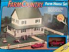 Vintage 1991 Ertl Farm Country Farm House Set 1/64 Collectible #4237