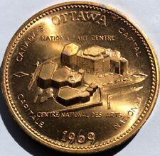 1969 ~ OTTAWA NATIONAL ART CENTRE ~ SOUVENIR DOLLAR ~ JAYCEES