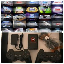New RetroPie Classic Game Console Over 10,000 games loaded 2 wireless PS3 Pads