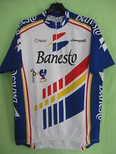 Maillot cycliste Banesto Nalini Campagnolo Galicia Jersey Vintage Tour 1993 - L