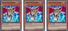 3 x Darklord Desire  LCGX-EN210 Super Rare YuGiOh Cards