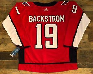 #19 Nicklas Backstrom Washington Capitals Jersey - Adult Small (46)