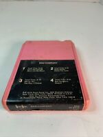 Bad Company Self Titled 8 track tape tested