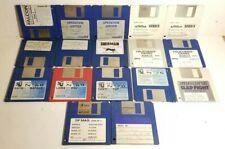 Lot de 16 Disquettes Jeux et Magazine Atari ST - Sherman Operation Jupiter ...
