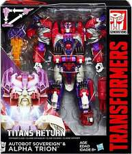 Transformers Generations Titans return Voyager AUTOBOT SOVEREIGN ALPHA TRION UK