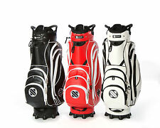 SMARTCADDY CART BAG FITS ALL ELECTRIC AND PUSH GOLF TROLLEYS WITH 14 DIVIDERS