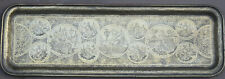Antique Qajar Middle East  Brass tray  Persian