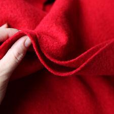 Kochwolle Walkloden - 100% - Wolle Trachten Rot feuerrot Mantelwolle Winter