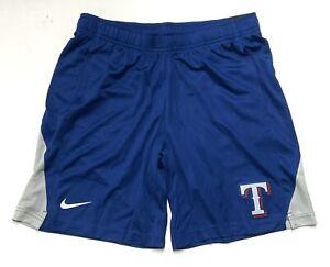 Men's Nike Texas Rangers Team Logo Franchise Shorts MLB Size Large N256-018P NWT