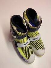 Scarpe per Sci da fondo n. 43, colore bianco, viola e giallo