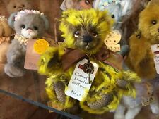 More details for charlie bears minimo clothes peg 27/600 mohair isabelle lee bear shop