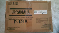 Yamaha P121B 73 Weighted Keys Digital Piano with Speakers Black - Exc!