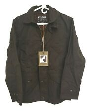 Versatile NWT $325 Filson Palson Field Jacket Waxed Cotton Coyote Brown Size XS